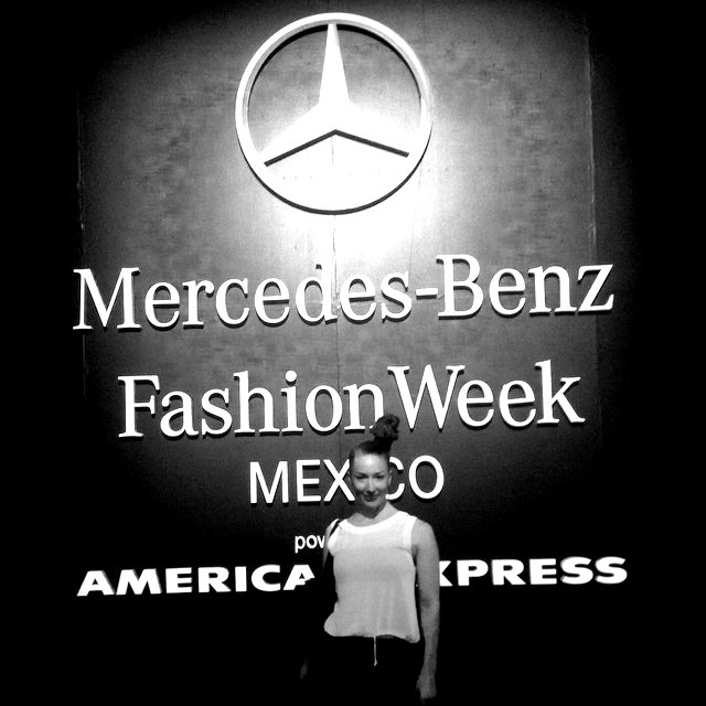 mercedes benz fashion week  laura ainscough director stylewalk Mexico city