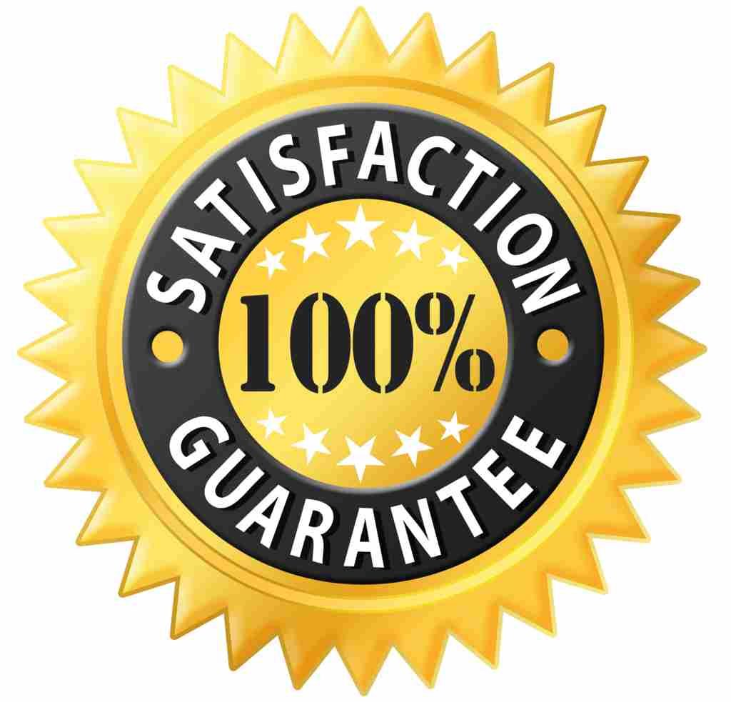 100 satisfaction-private tour guarantee badge