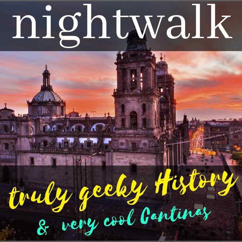 nightwalk mexico city zocalo