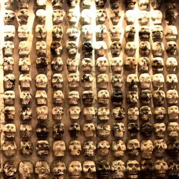 skulls mexico city