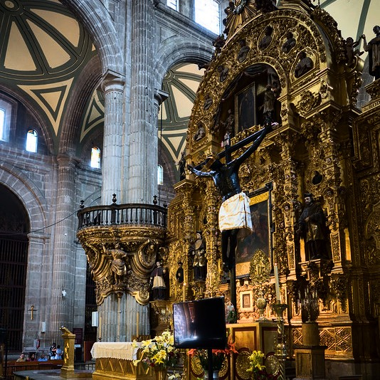 mexico city cathedral 6
