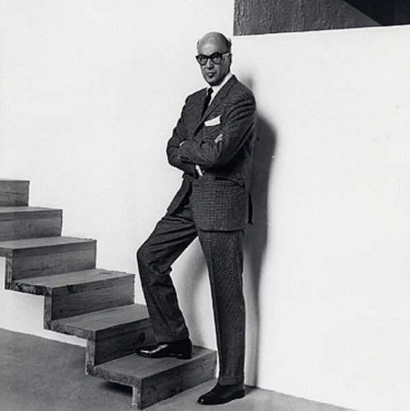 Luis barragan at his house