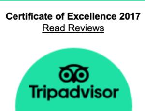 2017 certificate of excellence tripadvisor